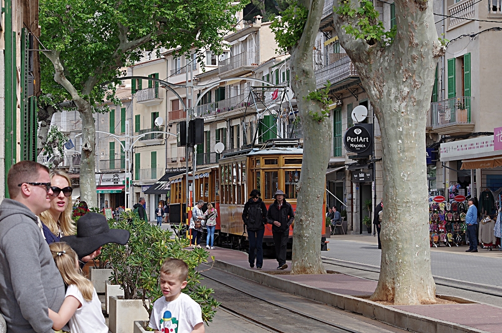 Port a Soller's tramway