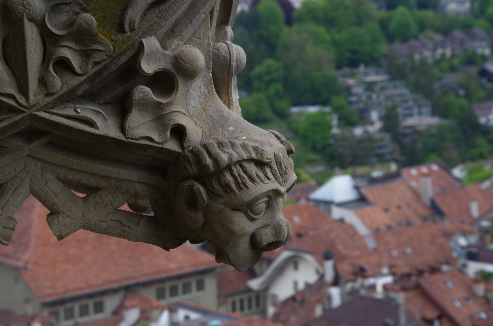 Stone Carving on Bern Minster