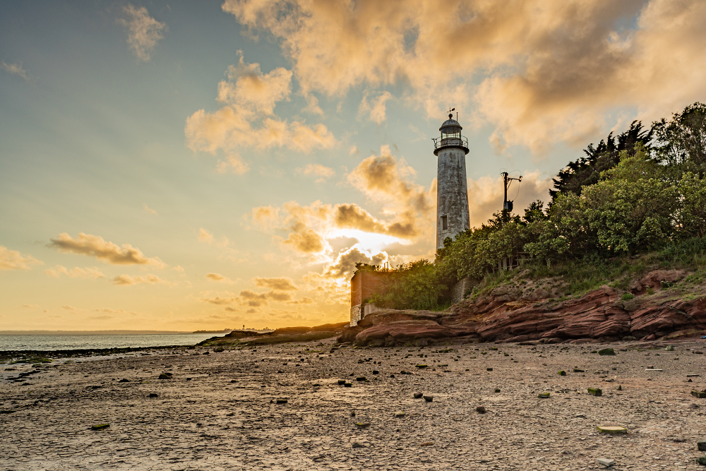 Hale lighthouse and environs July 2019