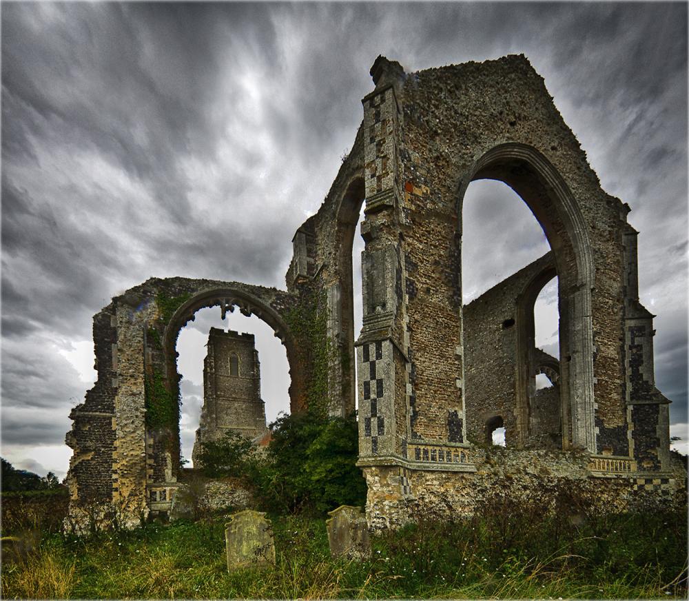 Church at Covehithe, Suffolk