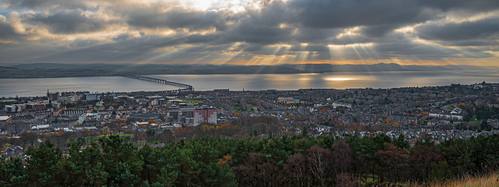 Ladders over Dundee