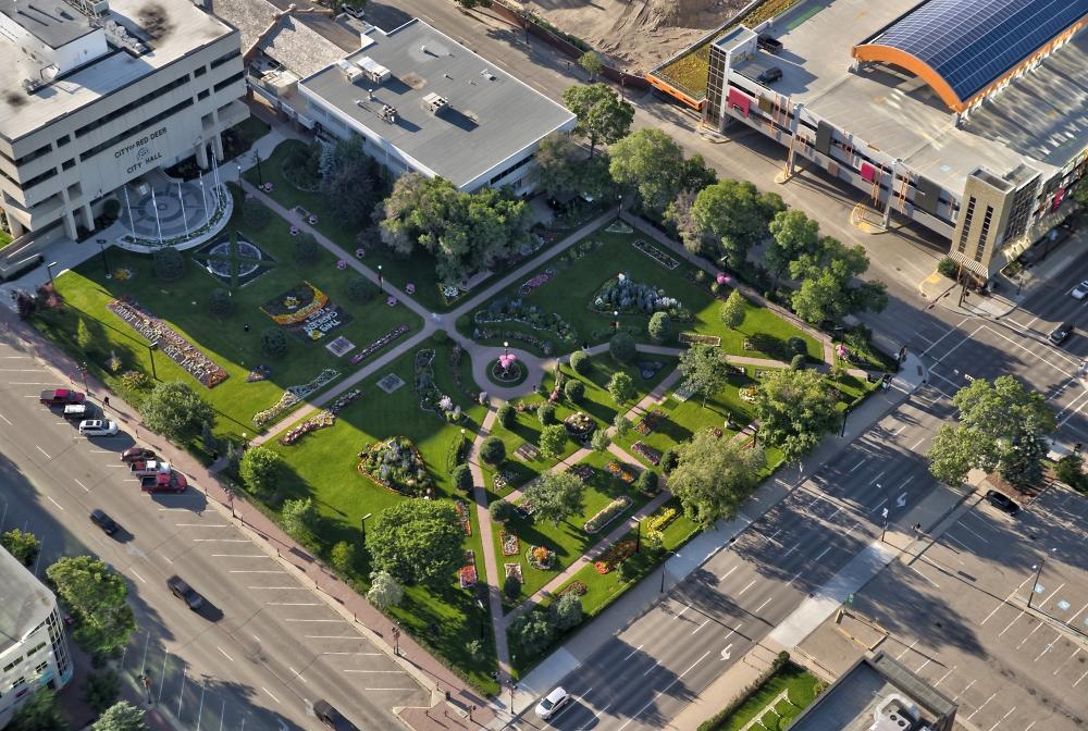 Red Deer City Hall Gardens