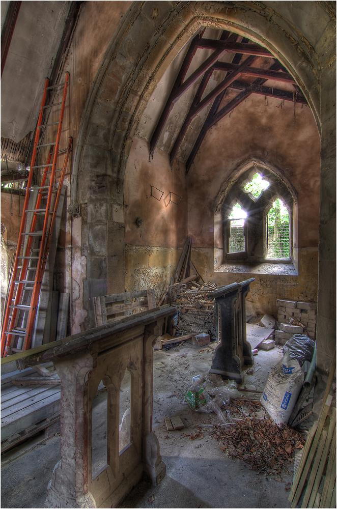 Interior of Derelict Chapel