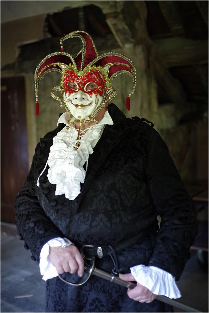 The Masked Swashbuckler