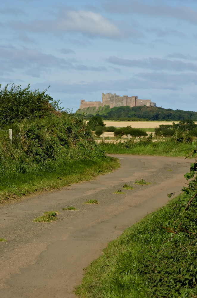 The Road to Bamburgh Castle.