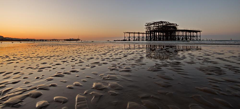 West Pier - sunrise