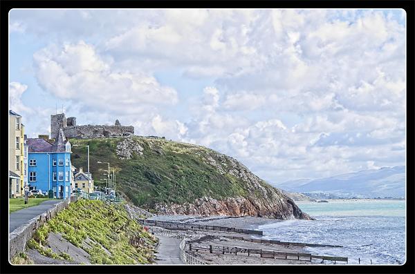A postcard from Criccieth
