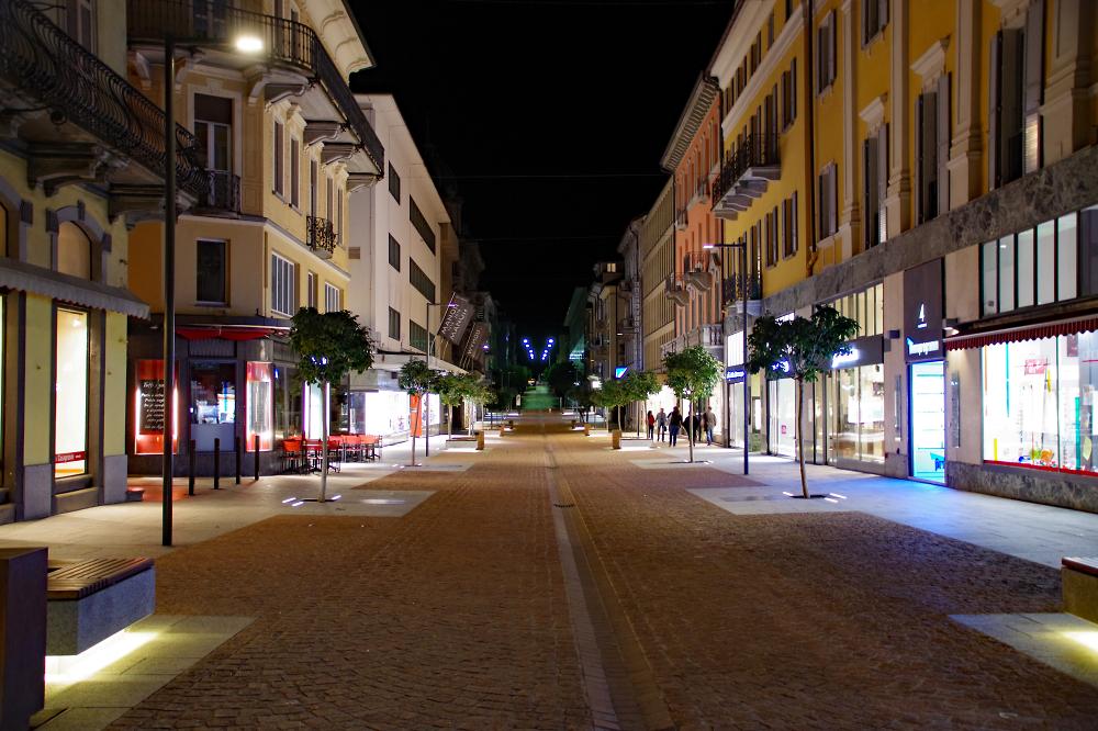 Bellinzona (Switzerland) Main Street