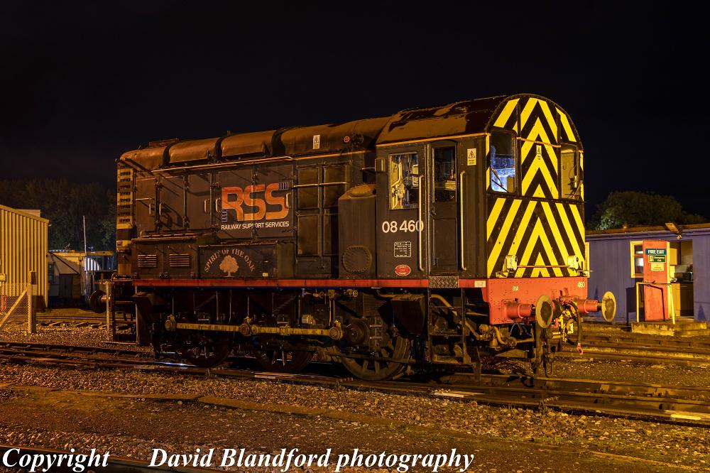 Class 08 shunting locomotive