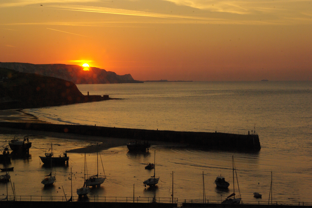 Sunrise - Folkestone Harbour