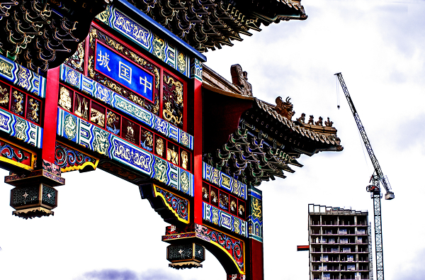 The changing face of Newcastle's China Town and Gallowgate district