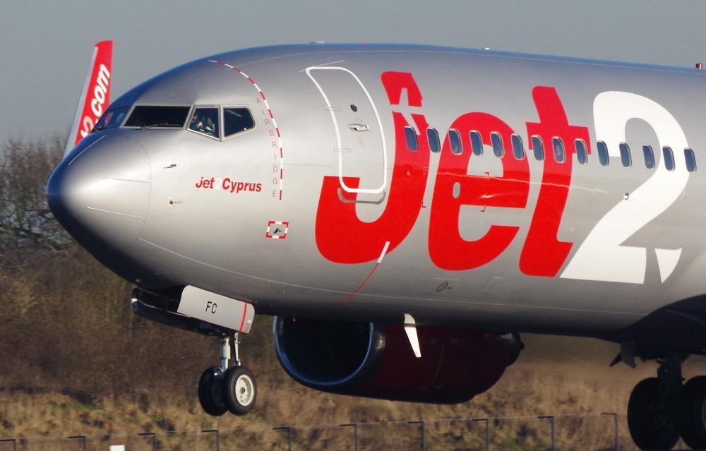 Jet 2 B737 'Cyprus'