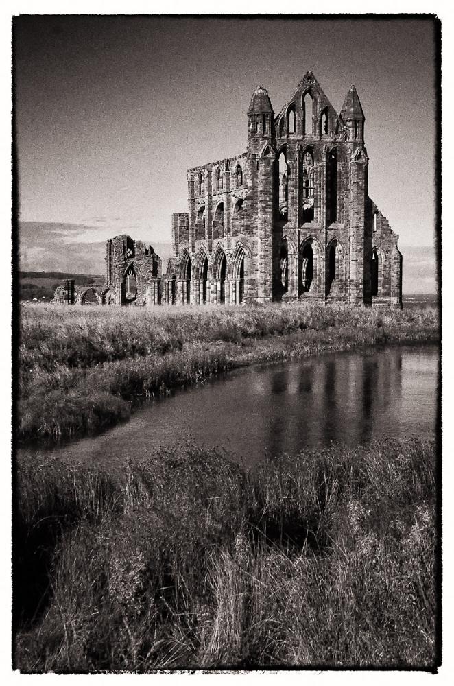 Whitby Abbey.