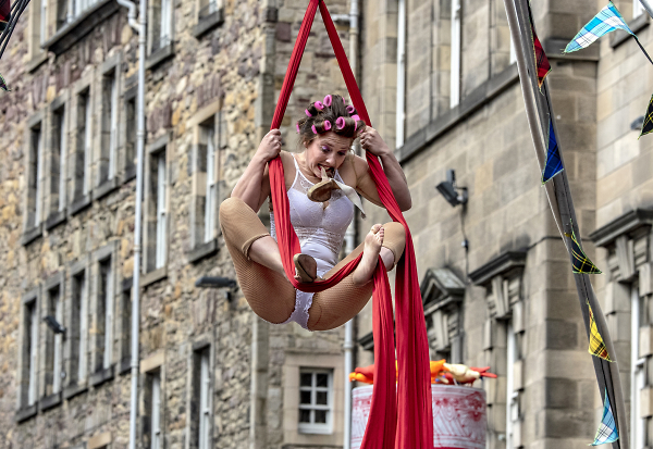 Hanging around at The Fringe