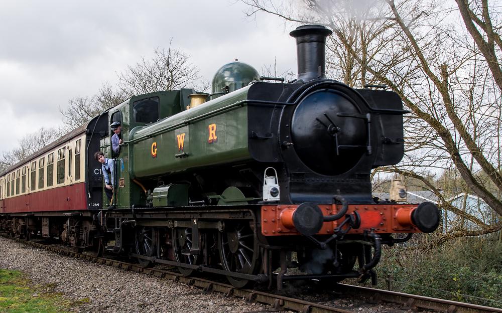 The last Pannier tank locomotive