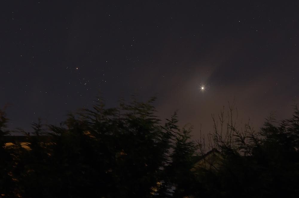 Planet Venus & Pleiades conjunction