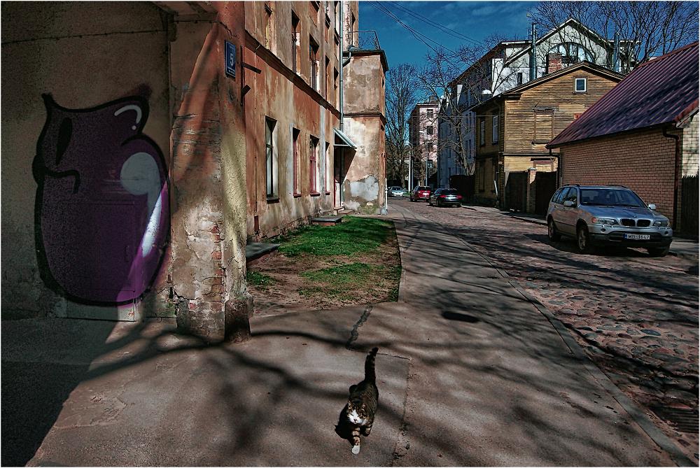 Spring in Riga