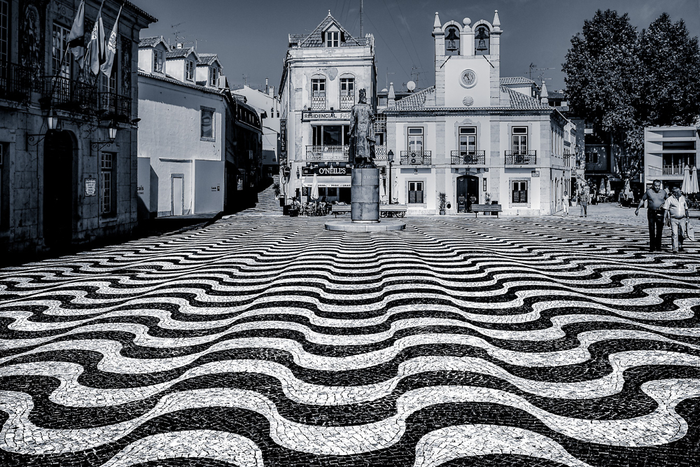 Walking Back, Cascais, Portugal