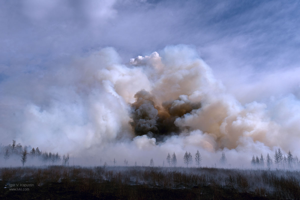 Avialesoohrana extinguishes the most complex forest fires in Russia