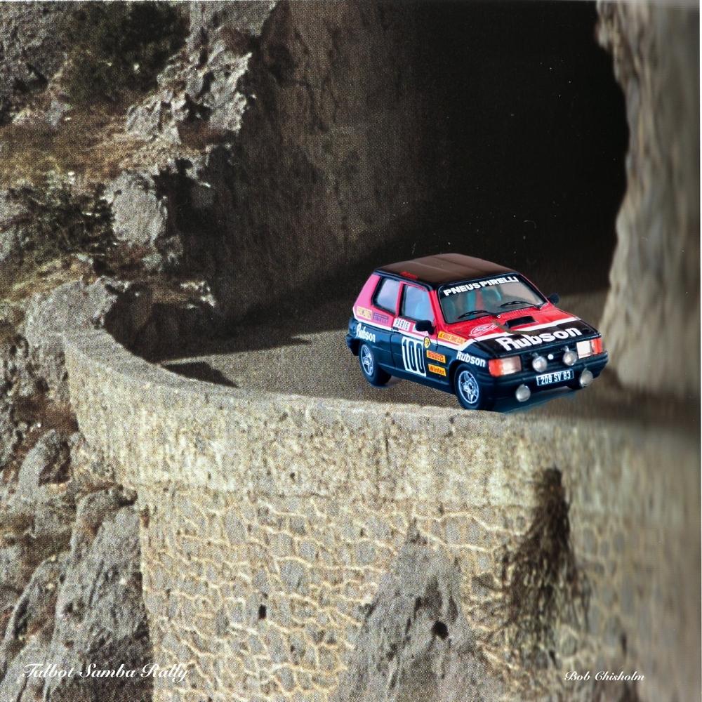 Talbot Samba Rally