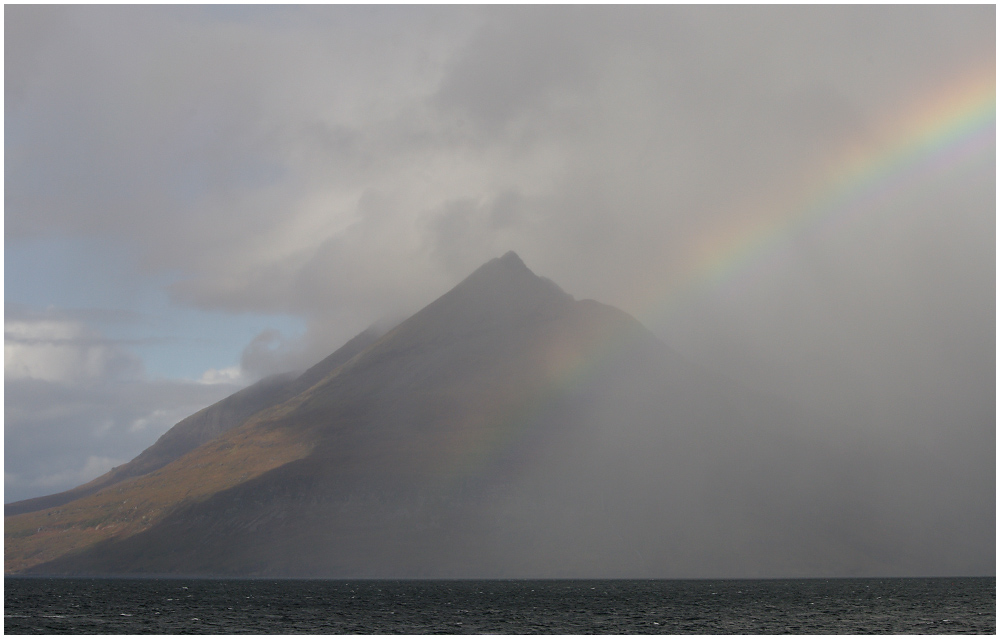 Storm over the Cuillins