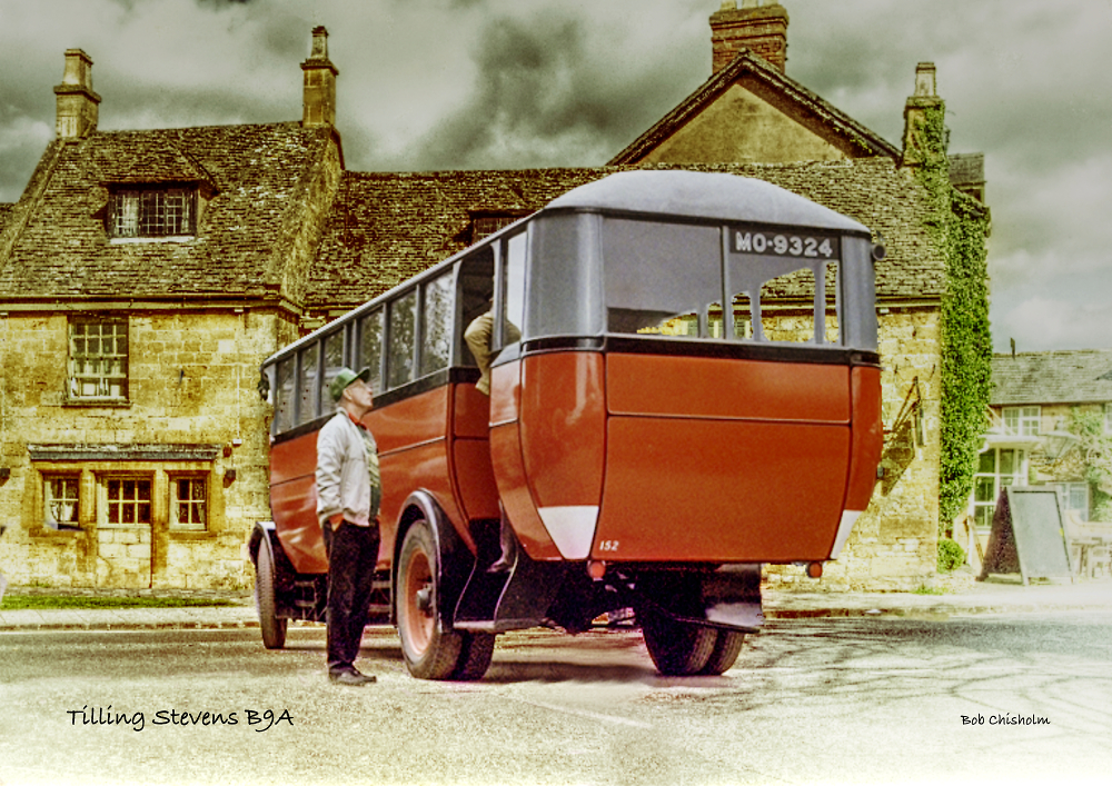 'Vintage Bus'