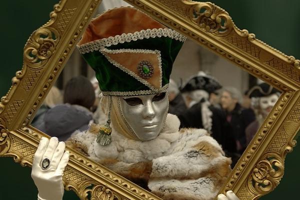 Venice Carnival Framed