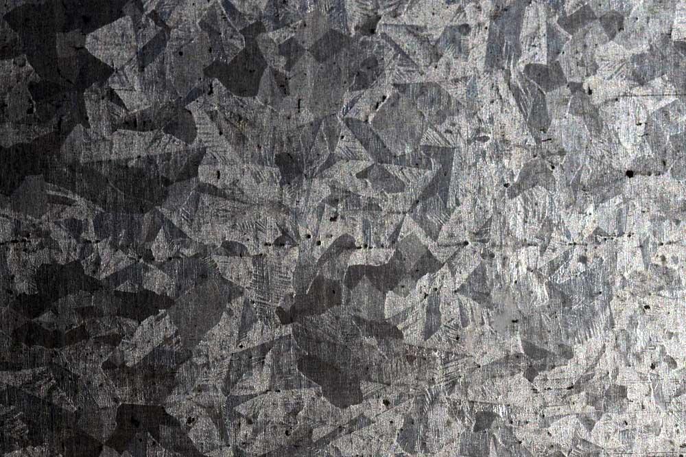 Galvanised sheet steel