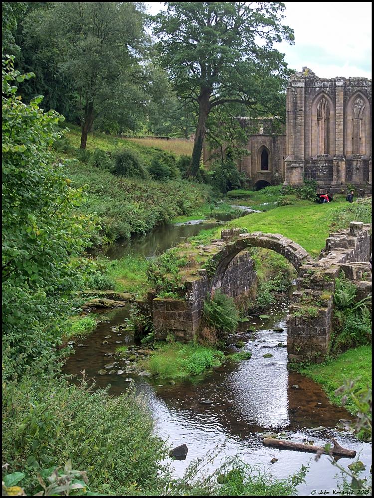 Mill Stream, Fountain's Abbey