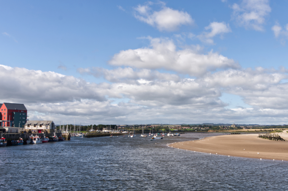 View from Amble