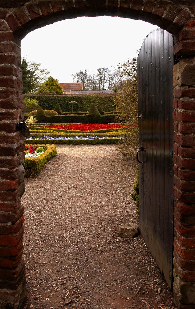 Sewerby Hall Walled Garden Gate
