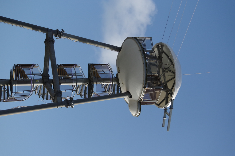 Zip wire tower , Bournemouth pier.