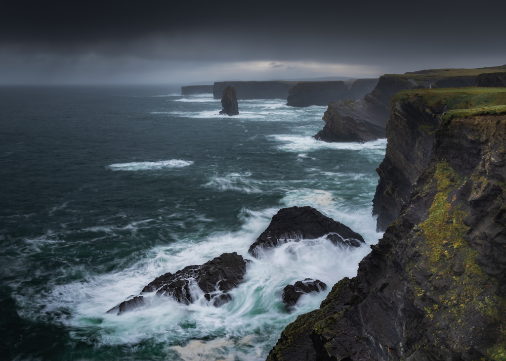 """Kilkee Cliffs"" - Ireland"