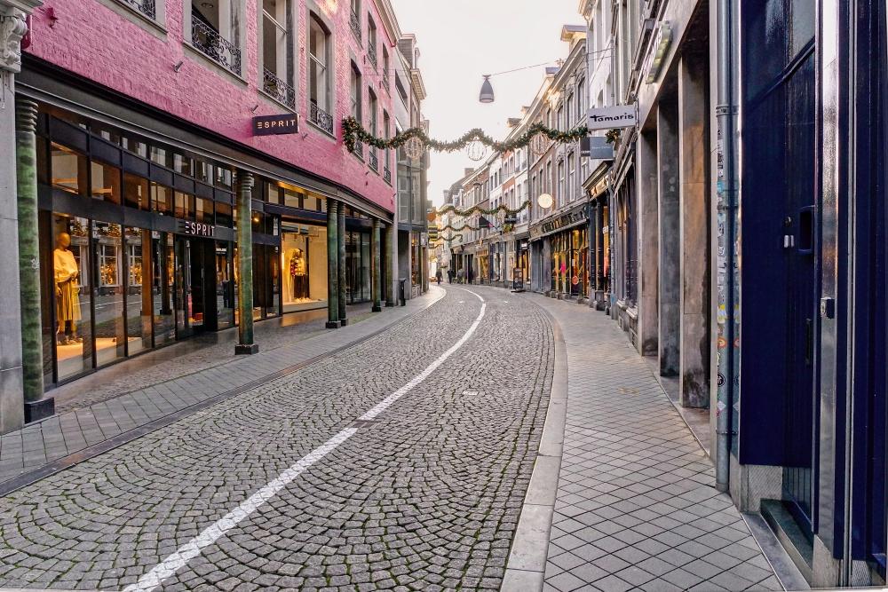 Lockdown In Maastricht.