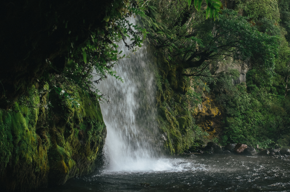 Waterfalls in Egmont National Park