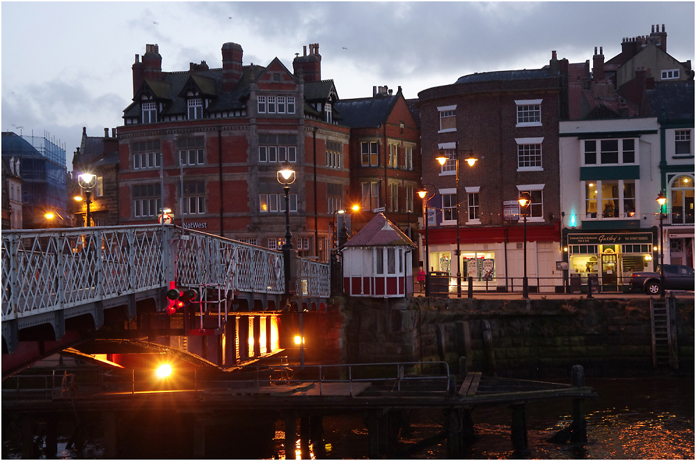 Whitby in the Early Evening