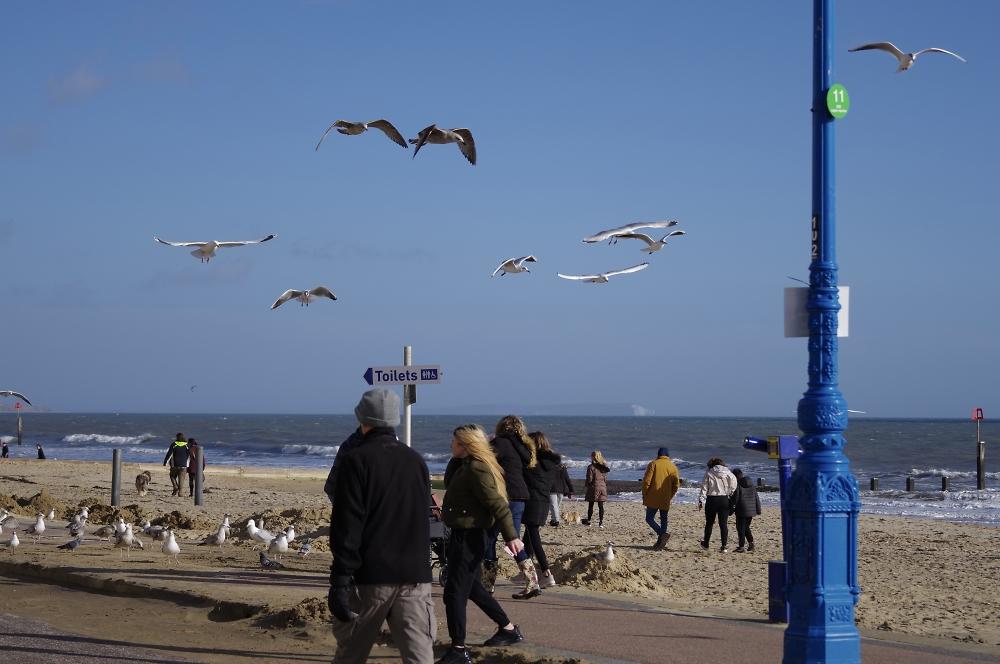 Bournemouth promenade a couple of days ago.