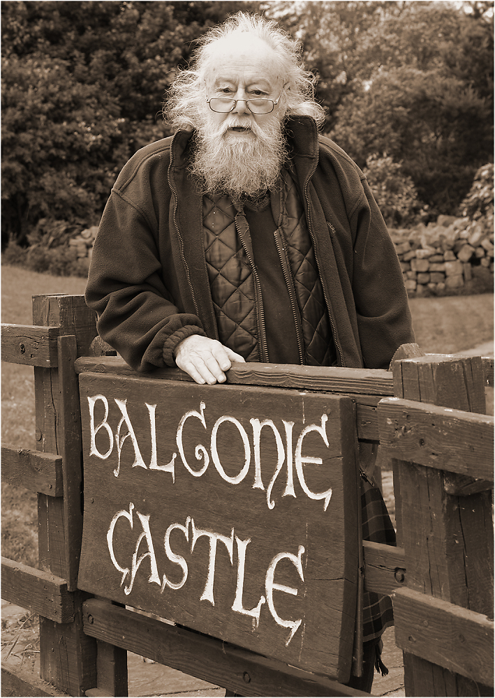 The Laird of Balgonie Castle