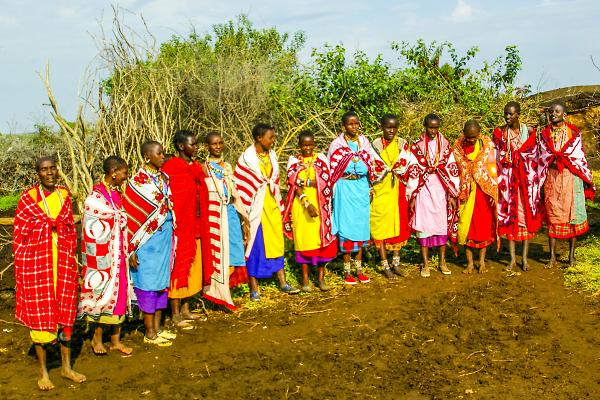 The Ladies of Stanleys Manyata (Village) 2005 Kenya