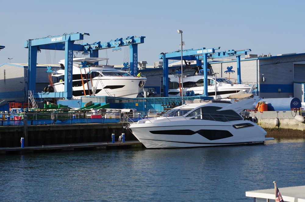 Sun seeker yachts, Poole Quay