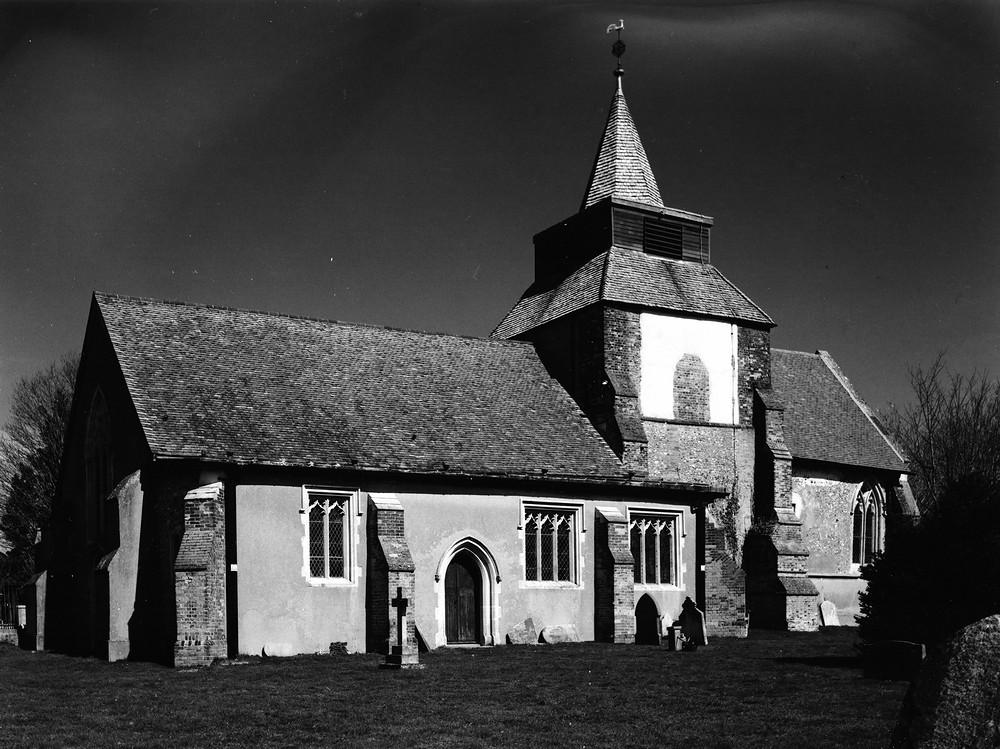 Fyfield Church -RED Filter