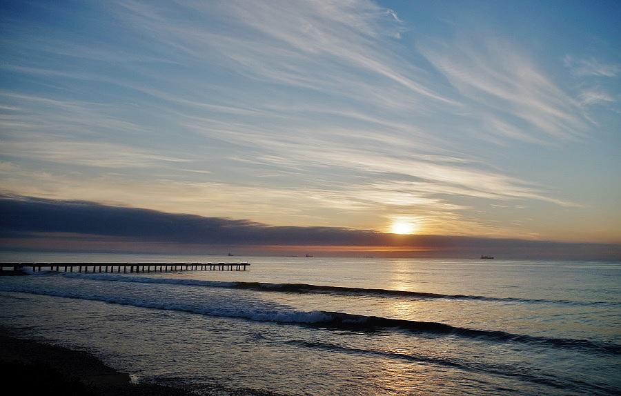 Sunrise in Algoa Bay