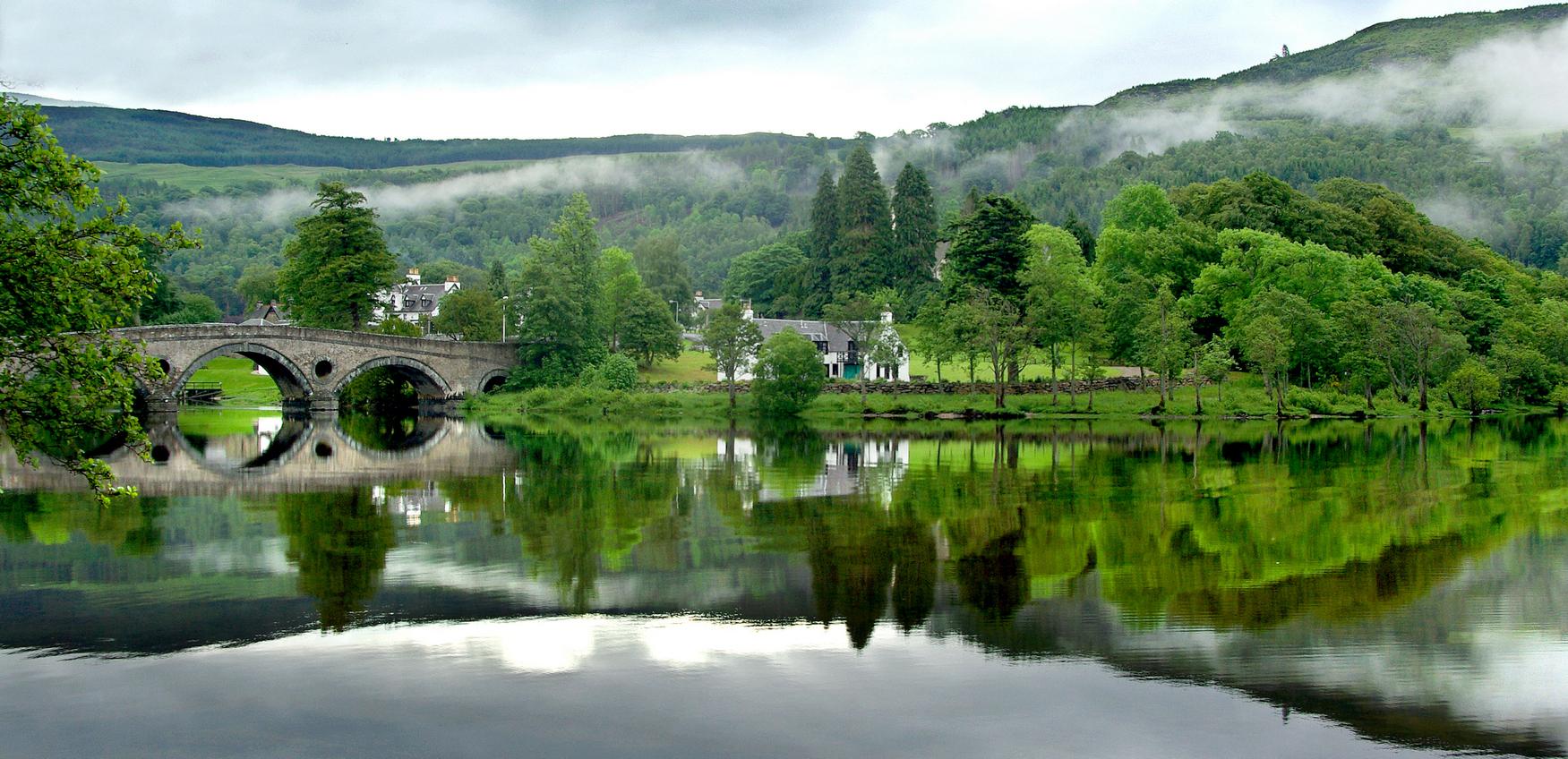 Early morning Loch Tay