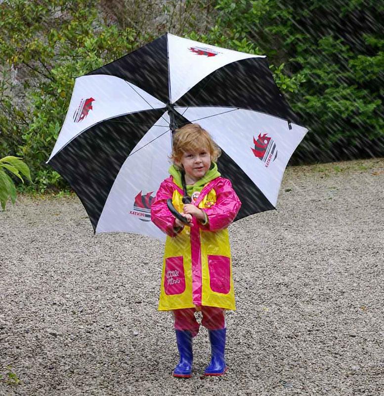 Pentax User in the Rain