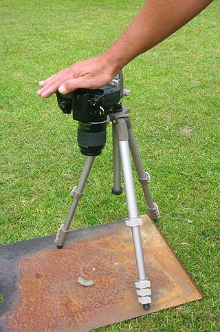 Covering Pentax SLR viewfinder