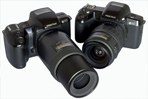 The Z-10 and Z-20 with FA 100mm Macro and FA 28-80mm Power Zoom lenses