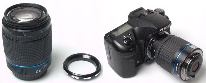 Lens Reverse Adaptor