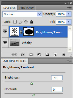 Brightness / Darkness Adjustment