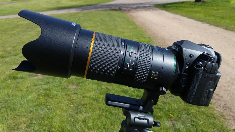 Pentax K-1 With 70-200mm Lens