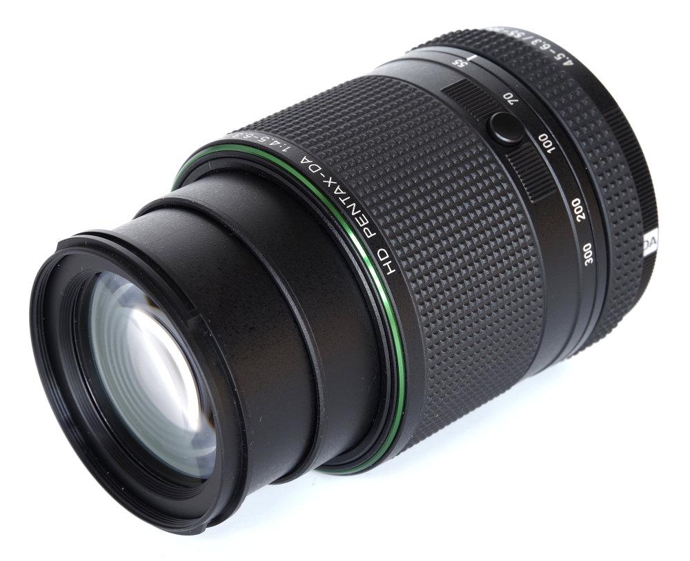 Hd Pentax 55 300mm Ed Plm Wr Re Front Oblique View